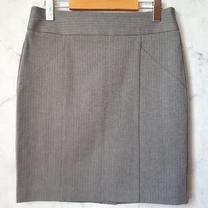Banana Republic Chevron Cotton Pencil Skirt 6P